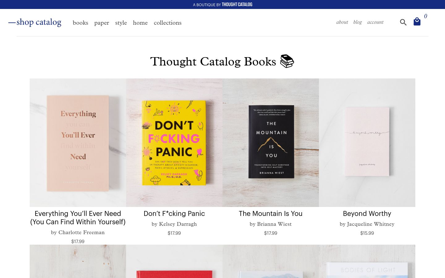 Thought Catalog Books